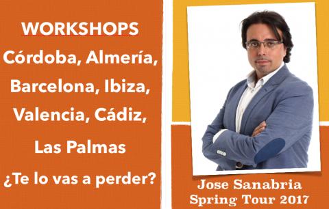 Workshops Spring Tour 2017